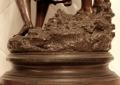 Статуя из бронзы XIX век